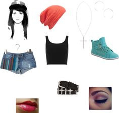 """""""Becky G inspired"""" by redbird4699 ❤ liked on Polyvore"""