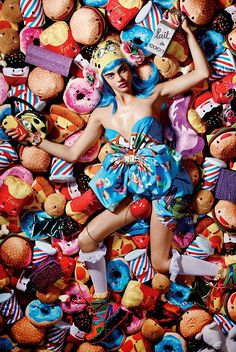 """Sweetie""   Model: Cara Delevingne, Photographer: Liz Collins, Love Magazine, Fall/Winter 2014"