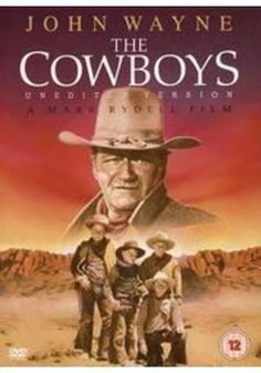 "It's time for John Wayne again. What a treat to catch up with John Wayne movies. ""The Cowboys"" is another great movie with W. Old Movies, Vintage Movies, Great Movies, Love Movie, I Movie, Movie Stars, Film Mythique, John Wayne Movies, Plus Tv"