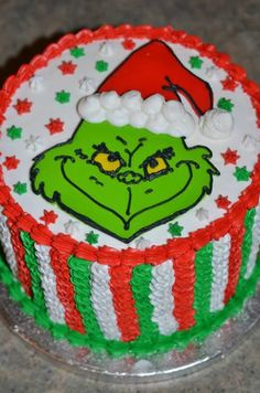 grinch cake | Like · Comment · Share
