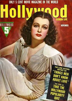 Joan Bennett, Hollywood Magazine, November 1939 | Flickr - Photo Sharing!