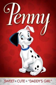 *PENNY ~ 101 Dalmatians, 1961