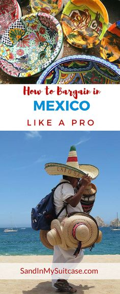 """In many places in Mexico, bargaining is the name of the game if you want to buy and take home a souvenir. See what great """"stuff"""" you can buy from beach vendors -- and learn how to bargain like a pro (while also being fair)... #Mexico #shopping"""