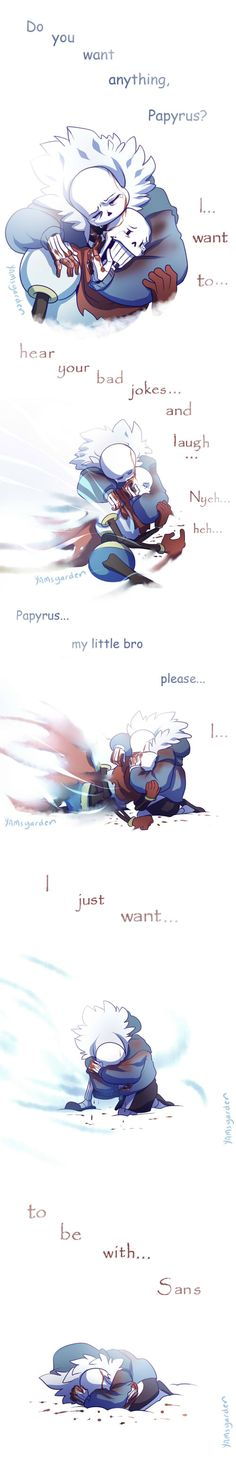 I just want to be with Sans by YAMsgarden on DeviantArt