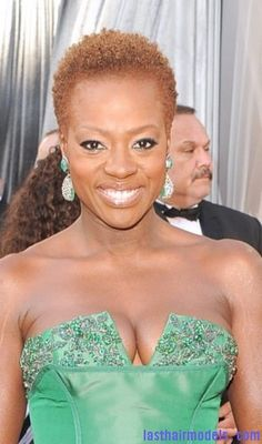 TWA with cute color!  Love Viola Davis, Mrs Emmy Award Recipient