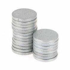 Big Bargain 20 Stück Super Strong Rare-Earth Neodym-Magnete Magnet 8mm x 1mm: Amazon.de: Baumarkt