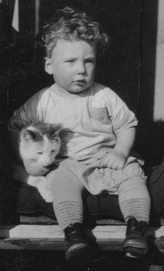 This cat and this cat's little boy, 1929