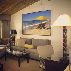 """@malibubeachinn's photo: """"Did you know that each room at the Malibu Beach Inn features different stunning lithographs from the incredibly-talented Glenn Ness? #art #Malibu #MalibuBeachInn #luxuryhotel #travel #beach #photooftheday #picoftheday"""""""