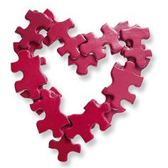 Your my missing piece puzzle valentine pin from Family Fun Magazine