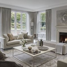 Restful formal lounge at The Wentworth project