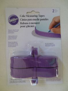 Wilton Cake Measuring Tapes 26 in Long Cake Decorating Tool 417-1156 #Wilton
