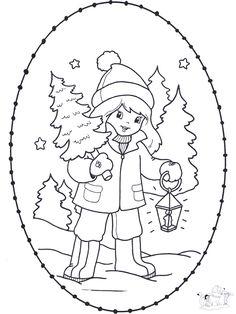 Stitchingcard girl