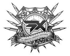 FX's emblem on Behance