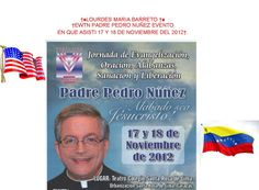 †EWTN PADRE PEDRO NUÑEZ EVENTO EN QUE ASISTI 17 Y 18 DE NOVIEMBRE DEL 2012†  †♠LOURDES MARIA†♠