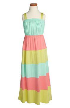 Soprano Pieced Colorblock Maxi Dress (Little Girls & Big Girls) | Nordstrom