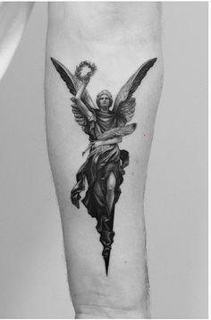 Mini Tattoos, God Tattoos, Black Ink Tattoos, Body Art Tattoos, Sleeve Tattoos, Tattoos For Guys, Chest Piece Tattoos, Chest Tattoo, Tattoo Life