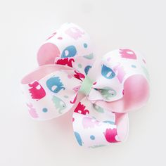 Double Layer Boutique Bow | Ribbon And Bows Oh My!
