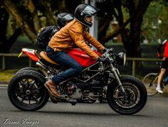 Nico's custom Ducati 848