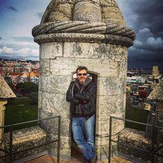 Atop the Torre de Belém. #architecture #history #culture / #Belém #Lisbon #Portugal