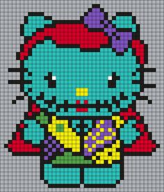 Sally_from_Nightmare_Before_Christmas_Hello_Kitty_(Square) by Maninthebook on…