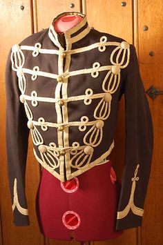 Hampshire Yeomanry Troopers Full Dress Tunic worn 1883-89