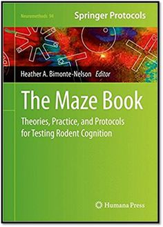 Neuromethods Vol.94 The Maze Book Theories, Practice, and Protocols for Testing Rodent Cognition | Sách Việt Nam