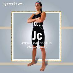 Jessica Camposano, Atleta Team Speedo Colombia. Primera mujer en bajar de 1 minuto en 100m mariposa en Colombia. #TeamSpeedoCol