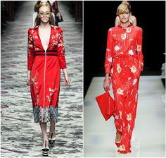 модные цвета сезона весна-лето 2016 - Gucci, Giorgio Armani