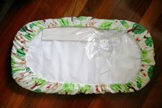 Sewing Tutorial: Fitted Bassinet Sheet
