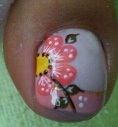 Pedicure Nail Art, Toe Nail Art, Manicure, Blue Nails, Veronica, Christmas Bulbs, Nail Polish, Floral, Toenails