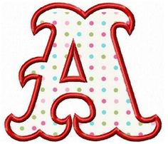 Circus Applique Font - 3 Sizes! | What's New | Machine Embroidery Designs | SWAKembroidery.com Fun Stitch