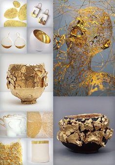 Gold Midas Adam Martinakis Takuro Kuwata Kairagi Wabi Chanoyu Tea Bowls