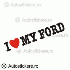 I love my ford Company Logo, Stickers, Alcohol, Madness, Decals