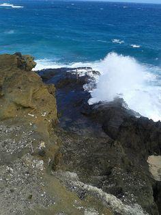 Halona Blowhole - East Shore, Oahu