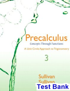 Free test bank for nutritional sciences from fundamentals to food test bank for precalculus concepts through functions a unit circle approach to trigonometry 3rd edition by fandeluxe Gallery