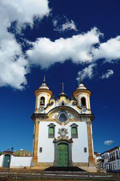 Mariana Church in Mariana, Minas Gerais_ Brazil