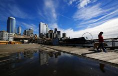 Sunny Seattle waterfront views | The Seattle Times