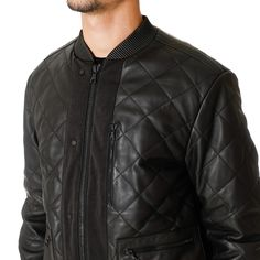 OAMC Quilted Leather Blouson
