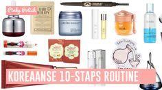 De Koreaanse 10-staps huidverzorgingsroutine