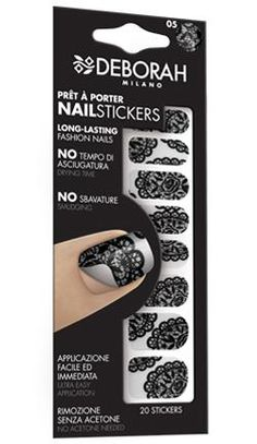 Prêt à Porter Nail Stickers Deborah Milano, Acetone, Nail Art Stickers, Girly Things, Sephora, My Nails, Patches, Make Up, Cosmetics