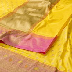 Ghanshyam Sarode Handwoven Banarasi Silk Sari 1005413 - Saris / Banarasi - Parisera