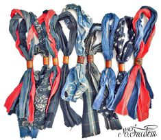 I have some fun soft denim I could make scarves out of...