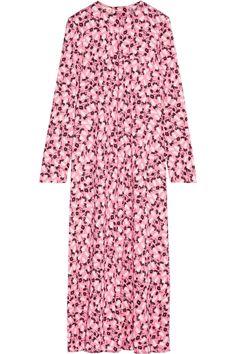 Marni | Printed crepe midi dress | NET-A-PORTER.COM