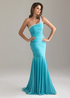 Turquoise One Should With Sequin Allure Prom Dress.jpg 428×600 pixels