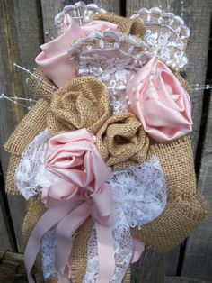 Items similar to Wedding Bride Handheld Vintage Lace Blush Pink Rose Burlap Rose Pearls Lace Petals Scattered Pearls Bow on Etsy Country Wedding Bouquets, Wedding Bride, Our Wedding, Vintage Lace, Burlap Wreath, Blush Pink, Pastel, Trending Outfits, Unique Jewelry