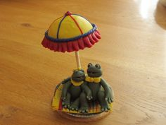 Polymer Frogs under Sunshade