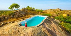 """""""Over the course of our travels, we get to stay in many wondrous places. But once in a blue moon, we come across a place that completely wins us over. Lakshman Sagar, in the Pali district of Rajasthan, is one such place."""" - Tripoto Re - opening on 3rd of August 2017. For reservations, call 011 3958 5266."""