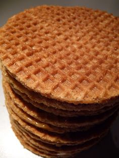Typical Dutch Recipes: Stroopwafels This is more for Mom...