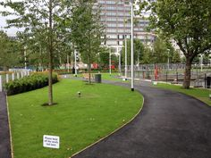 New Park in Canary Wharf