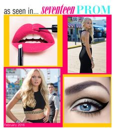 """""""As seen in... SEVENTEEN PROM! February 2016"""" by camillelavie ❤ liked on Polyvore featuring women's clothing, women, female, woman, misses and juniors"""